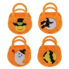 Halloween Kids Candy Bag Party Supplies Trick or Treat Loot Goody Bags 3pieces