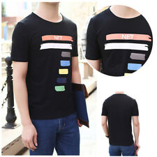 Short Sleeve Cotton 3D T shirt Summer Men's Casual T Shirts Men's T-shirt 1Pcs