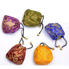 Silk Embroidery Ethnic Style 1 Pcs Jewelry Drawstring Drawstring Pouch Bags