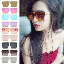 Mens Womens Square Metal Classic & Colorful Sunglasses Vintage Retro UV400