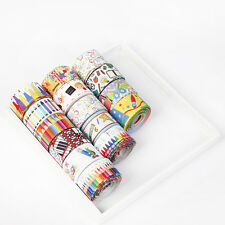"Wholesale 50 Yards 1""  Back To School Marker Pens Grosgrain Ribbon DIY Crafts"