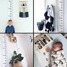 Kids Growth Chart Children Room Decor Wall Nursery Hanging Height Measure Ruler