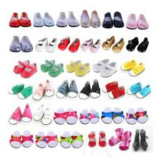Doll Shoes Clothes FOR 18' American Girl Doll Sneakers Flats Clothing Dress Accs