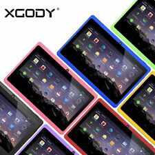 7'' Android 4.4 Tablet PC Kids Children Pad 4xCore 2xCamera HD 8GB WiFi A7 XGODY
