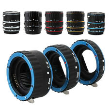Metal Mount Auto Focus AF Macro Extension Tube Ring for Canon EF-S Lens Adapter
