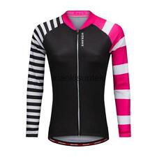 Woman's Breathable Cycling Jersey Long Sleeve Cycling Jersey Sportwear