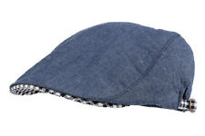 WITHMOONS Denim Summer Cool Cotton Newsboy Cap LD3069