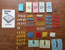 vintage King Oil board game replacement parts 1974 Milton Bradley MB