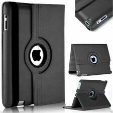 Black Apple iPad Mini 4 360 Degree Rotating Premium Synthetic Leather Case Stand