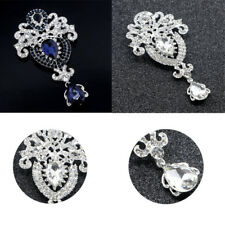 Corsage Clothing Accessories Crystal Crown Clothing Brooch