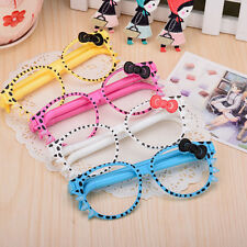 Frame Kittens Creative Cartoon Ballpoint Glasses Pen Stationary Kid Student^