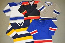 CHOICE OF: Authentic Sz 50 Blank DEAD STOCK Minor Pro College Hockey Jersey L/XL