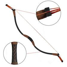 30-50 Lbs New Tang Recurve Bow Hunting Archery Longbow Right Hand Horsebow