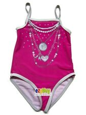 Barbie Pink Licensed Swim Bather Summer Girl Swimsuit