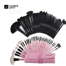 Makeup Brush Sets Professional Cosmetics Brushes Set Kit + Pouch Bag Case