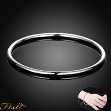 Wholesale Fashion Gift Solid 925 Sterling SILVER Women Lady Bracelet Bangle S925