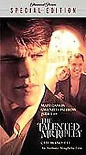 The Talented Mr. Ripley (VHS, 2001, Special Edition)