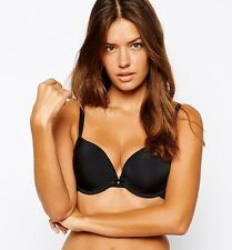 Cleo by Panache Neve 7196 Black Plunge T-Shirt Bra - Various Sizes