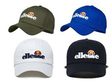 ELLESSE TAMPA BASEBALL CAP WITH CURVED PEAK - VARIOUS COLOURS - ONE SIZE **NEW**