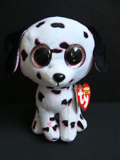 "NWT TY Beanie Boos 6"" GEORGIA Dalmation Dog Boo Claire's Exclusive Sparkly NEW"