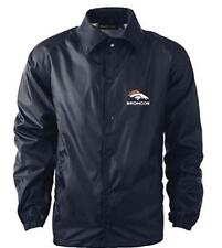 Returned Dunbrook Apparel NFL Coaches Windbreaker Jacket Denver Broncos XL