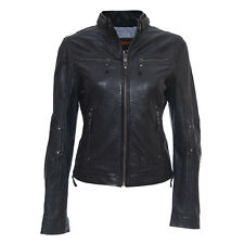 New Original Klassic Dashing Collection Lambskin Leather Jacket For Women W315