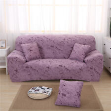 1/2/3 Seater Washable Surefit Stretch Couch Settee Sofa Slipcover - Pink