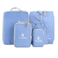 5 Piece Travel Organizers Packing Luggage Suitcase Bag Accessories Pouch Bag