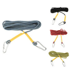 25KN 33ft/66ft Climbing Rope Mountain Rock Escape Fire Rescue Aerial Work Cord