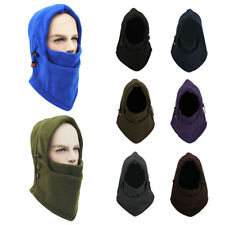 Fleece Winter Ski Balaclava Motorcycle Neck Face Mask Hood Hat Helmet Cap
