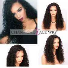 Silk Top Wig Curly Full Lace Wig Brazilian Remy Curly Lace Front Human Hair Wigs