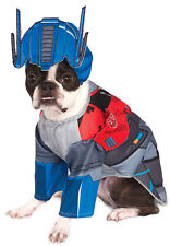 Transformers Pet Dog Cat Deluxe Optimus Prime Halloween Costume