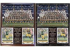 Green Bay Packers Super Bowl XLV Champions Photo Card Plaque