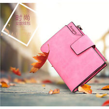 Lady's Leather Multifunction Three Fold New Style Grind Arenaceous Wallet