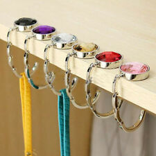 Crystal Wholesales Hanger Holder 1 Pcs Lady Folding Handbag Hook Bag Purse