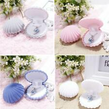 Shell Shaped Jewellery Gift Box Rings Small Earrings Necklace Ring Case