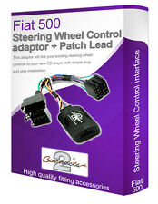 Fiat 500 car radio adapter lead, Connect your Steering Wheel stalk controls