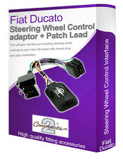 Fiat Ducato car radio adapter lead, Connect your Steering Wheel stalk controls