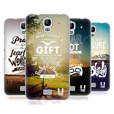 HEAD CASE DESIGNS CHRISTIAN SNAPSHOT HARD BACK CASE FOR HUAWEI Y360 / Y3