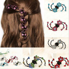 6Pcs Girl Crystal Snowflakes Hair Claws Clips HairPins Baby Hair·Accessory^v^