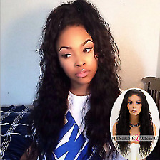 Curly Indian Remy Lace Front Wigs 100 Human Hair Lace Wigs For Black Women 130%