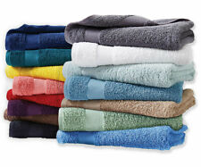 Essential Home Sutton Cotton Bath Towels and Hand Towels