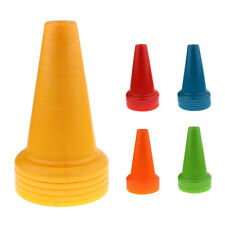 5Pcs Safety Cones Soccer Training Cones PE Traffic Cones, Choice of Colors