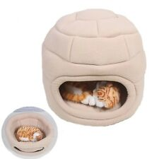 Small Pet Puppy Dog Cat Cave Bed Sofa Padded Sleeping Bag with Removable Cushion