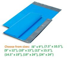 5-10,000 Poly Mailers Shipping Envelopes Self Sealing Plastic Mailing Bags Blue