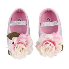 Newborn Baby Girl Shoes Flower Hair Band Toddler Shoes Soft Sole Crib Shoes