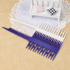 Style Beauty Salon Barber Hair Comb With Fish Tail Bone Shape Comb Dyeing Tool