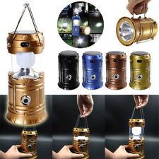 LED Solar Power Rechargerble Light Outdoor Camping Tent Light Torch Lantern Lamp