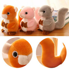 Toys for Children Squirrel Plush Toys Animals Plush Dolls Soft Stuffed Dolls