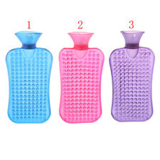 Portable 2L PVC Hot Water Bottle Bag Winter Hand Warmer with Soft Cover